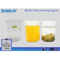 China Decolorizing Agent Water Treatment Color Removal Chemical COD Reduce Chemical on sale