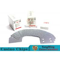 Buy cheap High End Casino Playing Cards For Hotels And Clubs Casino Entertainment from wholesalers