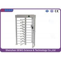 Buy cheap High Security Entrance Controlled Access Gates Full Height Single Channel from wholesalers