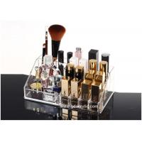 Buy cheap Delicate Crystal Clear Acrylic Cosmetic Makeup Organizer Bathroom Storage from wholesalers