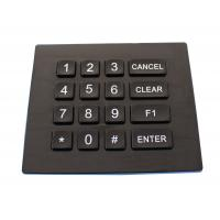 Buy cheap Ip66 Dynamic Waterproof Backlight Door Entry Keypad With Usb Or Ps / 2 Port product