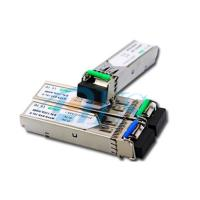 Buy cheap BiDi SFP Fiber Optic Transceiver Package With LC / SC Connector product