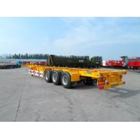 Buy cheap 40 Feet Container Carrying Semi Trailer Trucks With FUWA AXLE AND JOST Landing Leg product