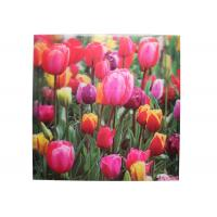 Buy cheap Frameless 3D Pictures Custom Lenticular Printing PET Printing 40x40cm product