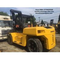 Buy cheap komatsu used 15ton fd150 diesel forklift , industrial 15t forklift product