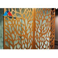 Buy cheap Recyclable Aluminium Decorative Wall Panel With Excellent Corrosion Resistance product