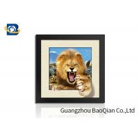 Buy cheap Animal 3D 5D Photography , Lenticular Image PrintingHome / Bedroom Wall Art Decor product