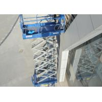 Buy cheap AWP Operation Scissor Lift Platform With Electric Motor And Hydraulic Motor Drive product