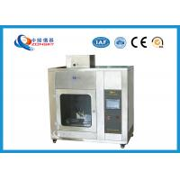 Buy cheap IEC 60695 Stainless Steel Needle Flame Testing Equipment / Pin Flame Test Chamber product