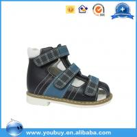Buy cheap Summer natural leather safety orthopedic shoes for kids product