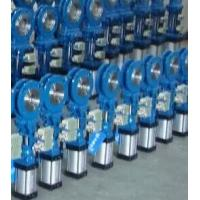China Wafer Type Stainless Steel Material Knife Type Gate Valve with Electeica Actuator on sale