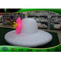 Buy cheap Customized PVC Inflatable Hat Shape / Inflatable Hat Type Model With Flower For from wholesalers