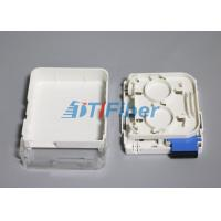 Buy cheap SC Duplex Wall Mounted Fiber Optic Terminal Box for SM Fiber from wholesalers
