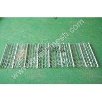 Buy cheap Stainless Steel Rib Lath Mesh , Hot Galvanized Expanded Metal Mesh product