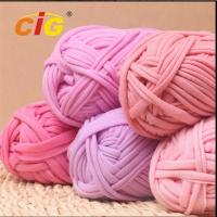 Buy cheap Colorful Dyed 100% Cotton Fabric Yarn Garments Accessories For DIY Hand Knitting product