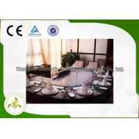 Buy cheap Electromagnetic Heating Arched Shape Teppanyaki Grill Table With Ten Seats CE from wholesalers
