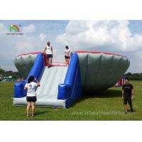 Buy cheap Funny Big Bowl Bungee Run Inflatable Sports Games Commercial / Rental Grade product