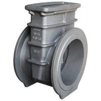 Buy cheap Industrial Parts Flanged Gate Valve Body Casting Flow Controlling DIN Pn16 product