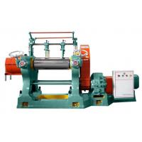 Buy cheap 380V Voltage Two Roll Open Internal Rubber Mixer Machine With An Emergency Brake Device product