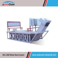 Buy cheap Heavy duty truck wheel washing machine/Wheel wash systems for mines plant product