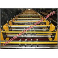 Buy cheap Galvanised / Chromadek Wide Span Roof Panel Roll Forming Machine product