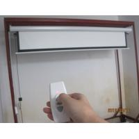 Buy cheap 2D 3D Seamless Silver Projection Screen , Remote Control Electric Projector Screen from wholesalers