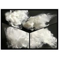 Buy cheap 1.2 Denier Regenerated Polyester Staple Fiber Semidull Raw White For Spinning product