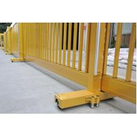 Buy cheap Motorised Automatic Aluminium Telescopic Sliding Gate For Factory Entrance With Wireless Remote product