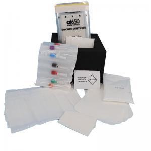 Buy cheap UN Flow Cytometry HDPE Writable Pathology  Specimen Transport Bags product