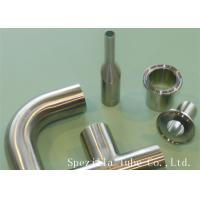 "Buy cheap 3/4"" Clamp Sanitary Valves And Fittings Welded 45 Stainless Steel Elbow product"