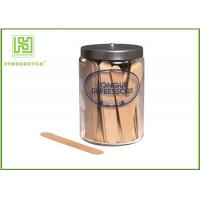 Buy cheap Wooden Disposable Tongue Scraper , Grade A Sterile Tongue Depressors Odorless product