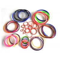 Buy cheap AS568 fuel hydraulic heat resistant sealing rubber silicone colored o rings from wholesalers