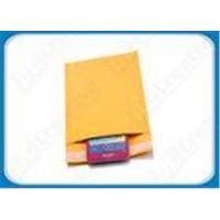 Buy cheap Recyclable Colored Air Bubble Mailers Gold Kraft Mailing Bubble Envelopes 6x10 inch product