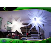Buy cheap Custom  Inflatable Lighting Decoration Oxford Cloth Colorful Star Light product