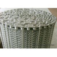 SUS304 Spiral Woven Stainless Steel Wire Belt Argon Welding ISO9001 For Baking