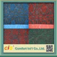 Buy cheap Custom 100% Polyester Jaquard Outdoor Carpet Fabric Anti-fire and Anti Slip product
