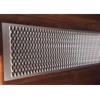 Buy cheap 180MM Width Perforated Metal Grip Strut Grating For Anti Skid Walkway Stairs product