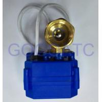 China SS304 or Brass Motorized Electric Ball Valve on sale