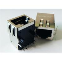 China HFJ11-RP44ERL POE RJ45 Connector FastJack Tab-down 10/100Mbps Rectifier Integrated on sale