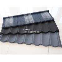 Buy cheap Colorful Stone Chip Coated Metal Roof Tiles / Galvalume Steel Roof Tile Sheets product