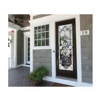 Buy cheap Insulated / Bevelled / Polished Obscure Decorative Panel Glass Allow Light To Pass Through from wholesalers