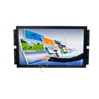 22 inch wide 16:10 Format Open frame LCD ir Touch Screen Monitor , 1680x1050 IP65 Front Displays