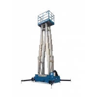 Buy cheap 16m Multi Mast Mobile Elevating Work Platform Vertical Mast Lift For Single Man from wholesalers