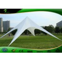 Buy cheap Custom White Camping Star Shade Tent , UV Resistance Star Marquee product