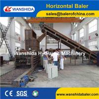 Buy cheap China Horizontal Plastic PET Bottles Balers with Manual Belting export to Mexico product