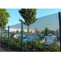 Buy cheap Industrial Anti Climb Prison Fence Hot Dipped Galvanized Steel Material from wholesalers