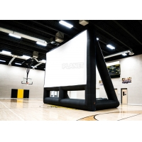 Buy cheap Commercial 210D Inflatable Projector Movie Screen With Blower product