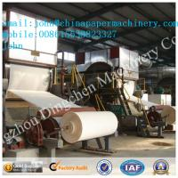 Buy cheap 2880mm 8-10T/D toilet paper making machine wwith waste paper as material product