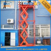 Buy cheap Stainless Steel Stationary Hydraulic Scissor Lift , Stationary Scissor Lift Platforms product