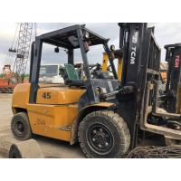 Buy cheap used tcm 4.5ton FD45T9 diesel forklift , low work hrs, originally made in japan , 3 meters lifting height product